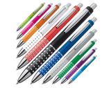 Kugelschreiber mit glitzernder Griffzone
